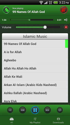 Islamic Music Screenshot