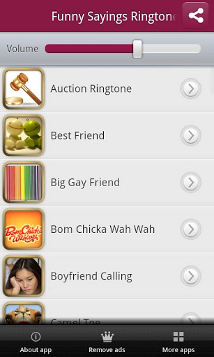Funny Sayings Ringtones Screenshot 1