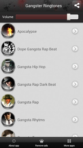 Gangster Ringtones Screenshot