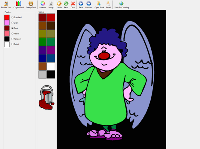 Go Coloring Screenshot