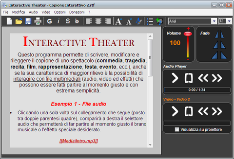 Interactive Theater Free Screenshot