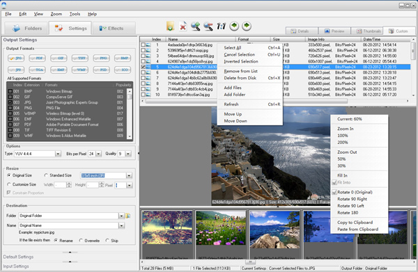 IconCool Free Graphics Converter Screenshot 1