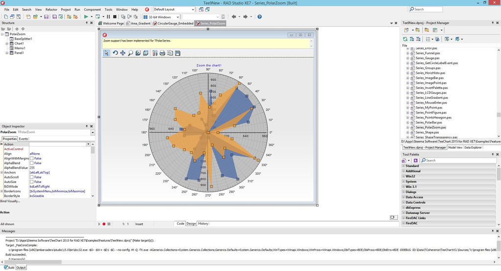 TeeChart Pro VCL / FMX Screenshot 2