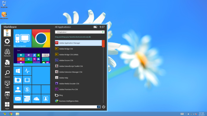 Start Menu Reviver Screenshot 2
