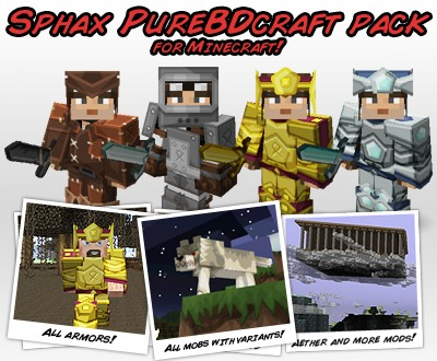 Sphax PureBDCraft (for Minecraft 1.5) Screenshot 2