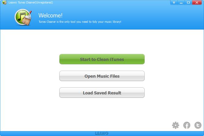 Leawo Tunes Cleaner Screenshot 1