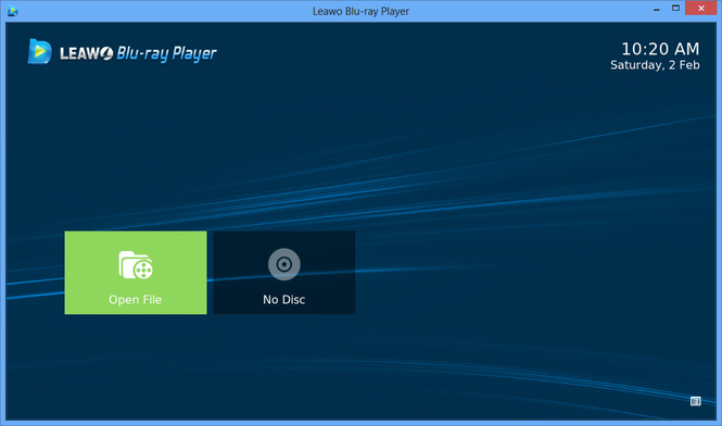 Leawo Blu-ray Player Screenshot