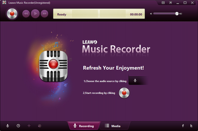 Leawo Music Recorder Screenshot 1