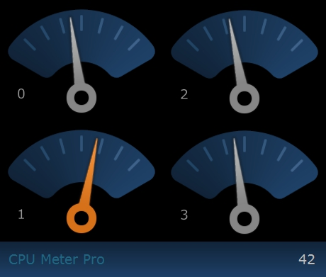 CPU Meter Pro Screenshot 1
