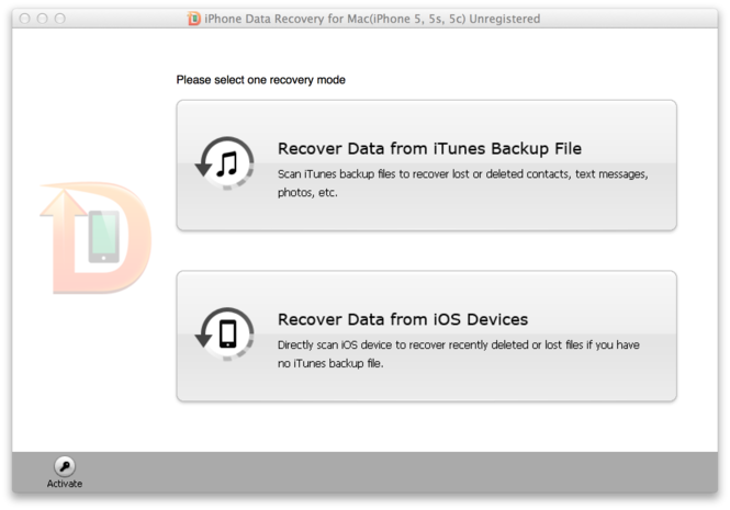 Tenorshare iPhone Data Recovery Screenshot 4