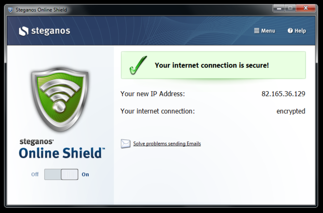 Steganos Online Shield 365 Screenshot 2