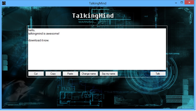 TalkingMind Screenshot