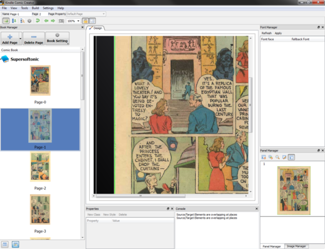 Kindle Comic Creator Screenshot 3