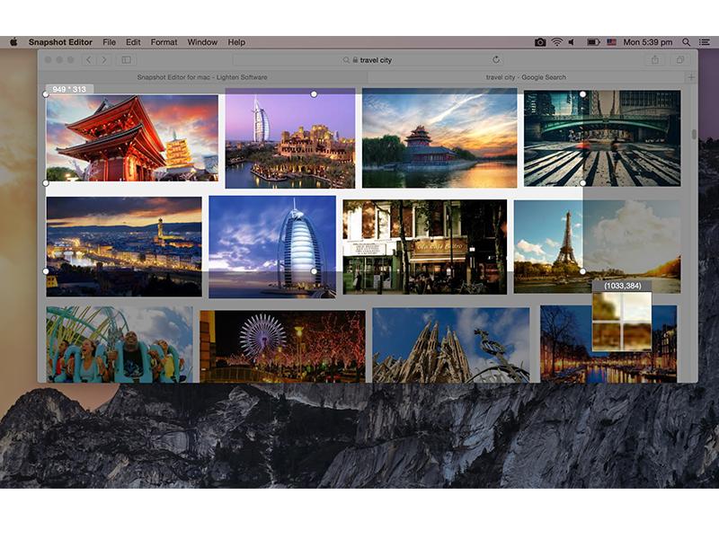 Snapshot Editor for Mac Screenshot 3