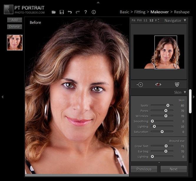 PT Portrait - Studio Edition Screenshot