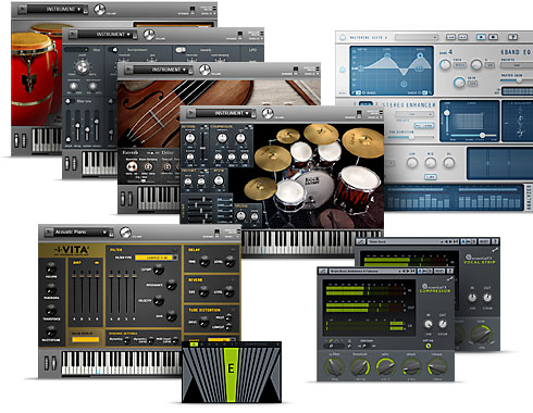 Samplitude Music Studio Screenshot