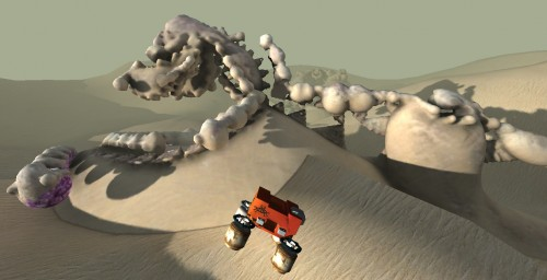 Crashed Lander Screenshot