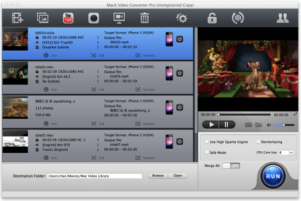 MacX Video Converter Pro Giveaway Screenshot