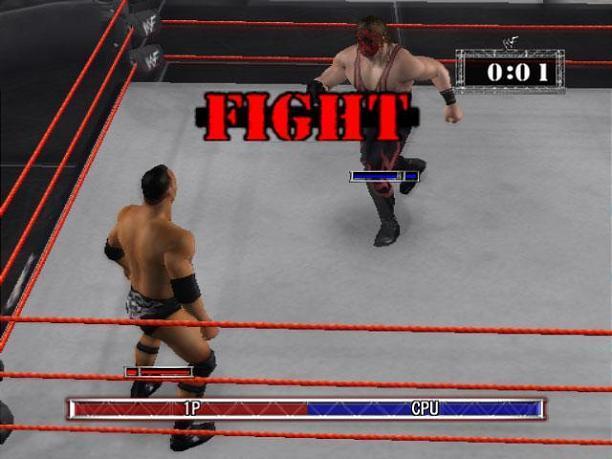 WWE Raw Screenshot 1