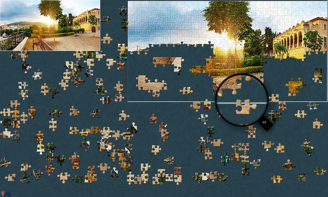 BrainsBreaker jigsaw puzzles for MAC Screenshot