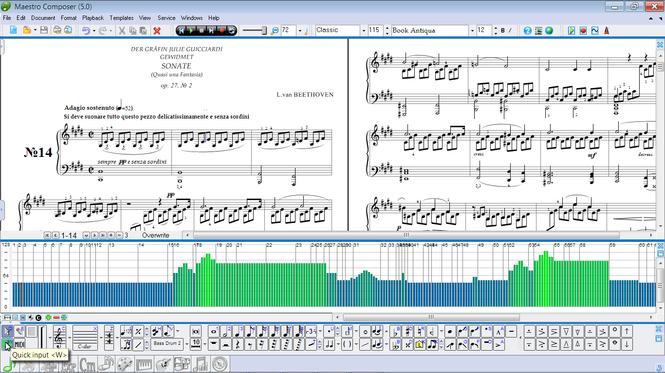 Maestro Composer Screenshot 2