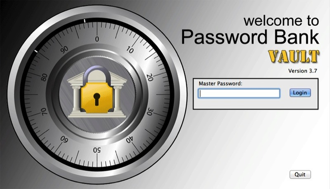 Password Bank Vault Screenshot 1