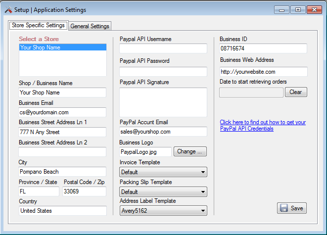 Breeze Order Management System Screenshot 2