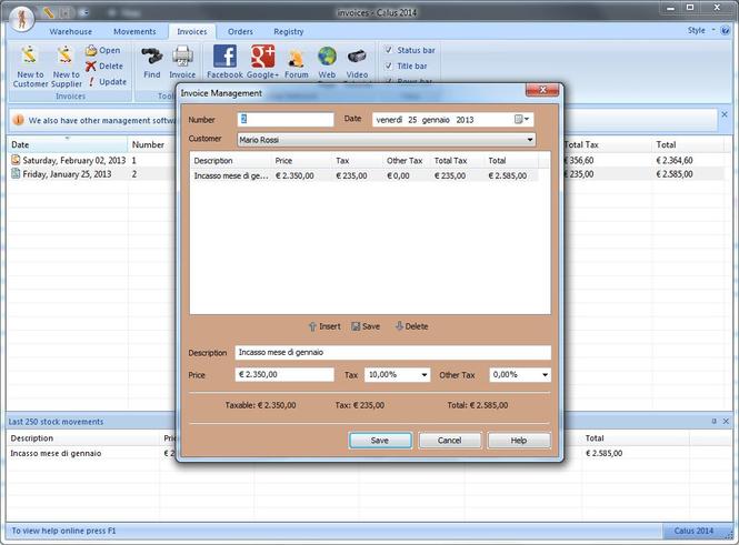 Calus Plus Screenshot