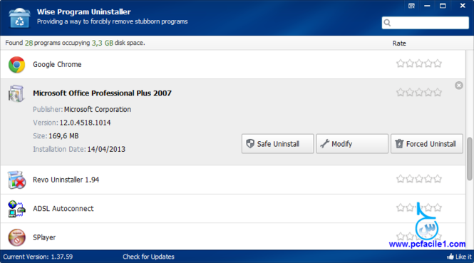 Wise Program Uninstaller Screenshot 3