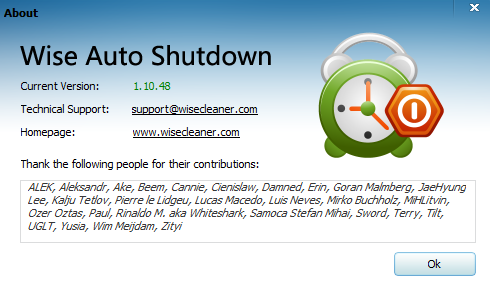 Wise Auto Shutdown Screenshot 2