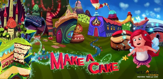 Make a Cake - Cooking Games Screenshot