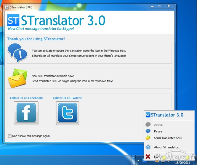 STranslator Screenshot
