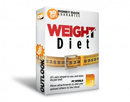 Weight Diet for Outlook Screenshot