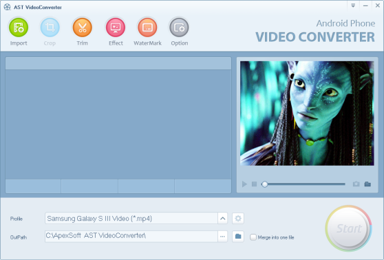 Jihosoft Android Phone Video Converter Screenshot