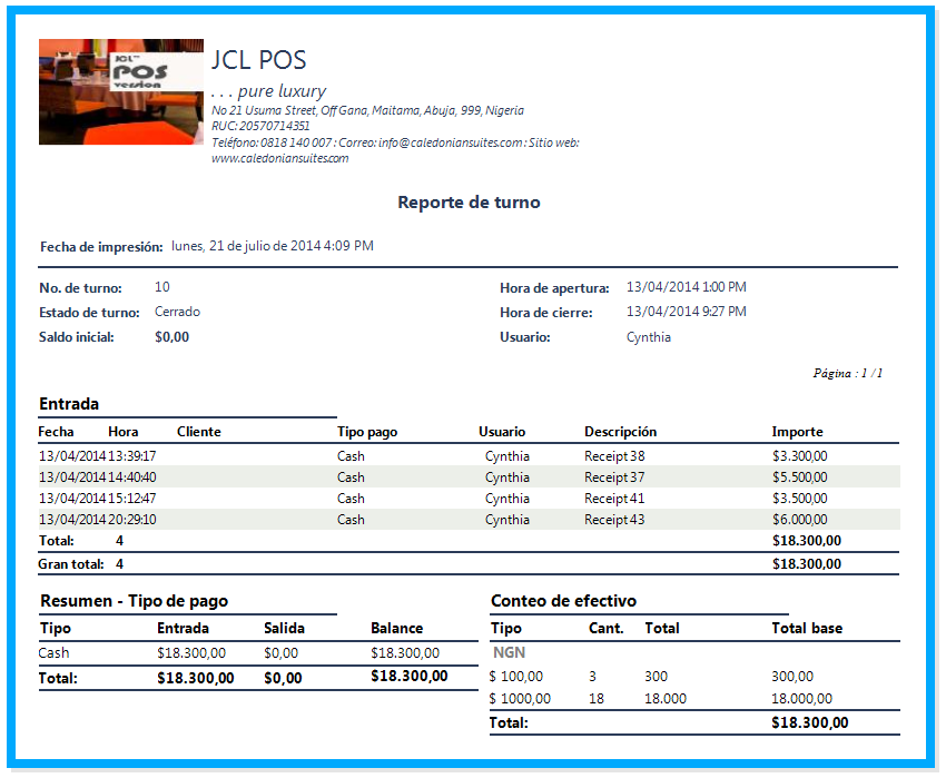 JCL POS Screenshot 3