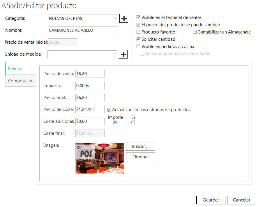 JCL POS Screenshot 4