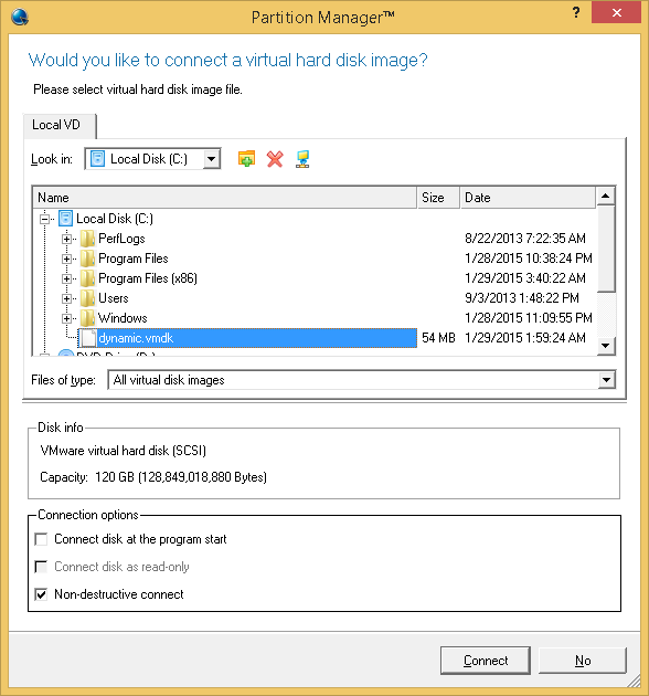 Paragon Partition Manager Professional Screenshot 3