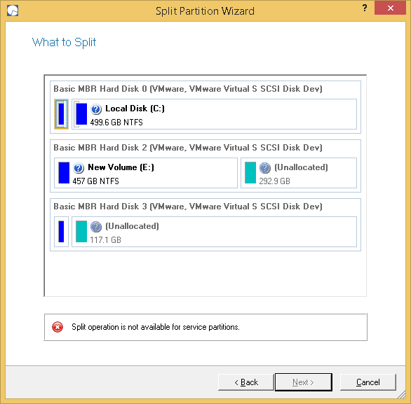 Paragon Partition Manager Professional Screenshot 8