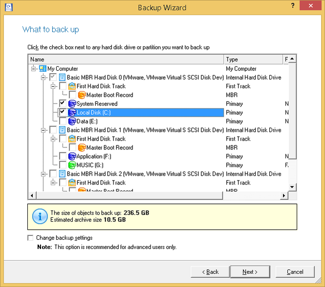 Paragon Partition Manager Professional Screenshot 5