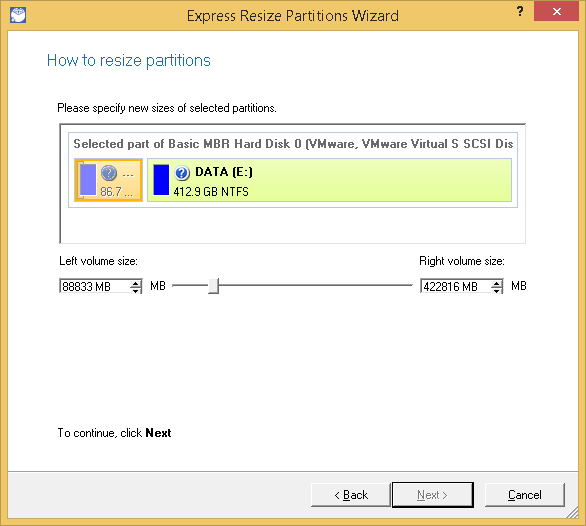 Paragon Partition Manager Professional Screenshot 6