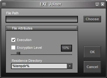 EXE Joiner Screenshot 1