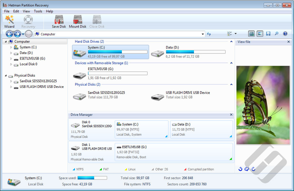Hetman Partition Recovery Screenshot 8