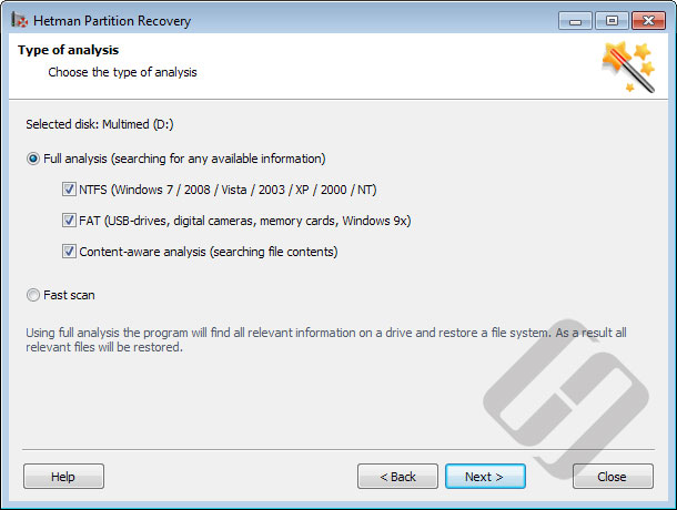 Hetman Partition Recovery Screenshot 5