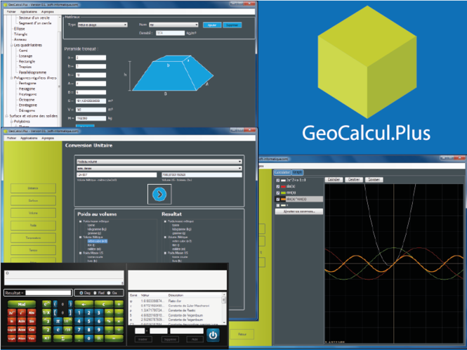 GeoCalcul.Plus Screenshot 1