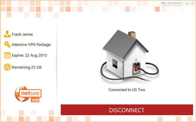 NetSee VPN Screenshot 2