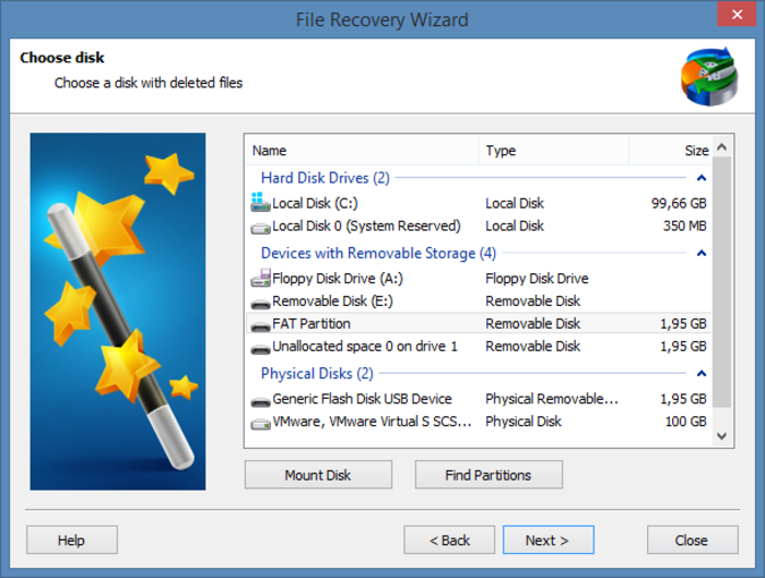 RS Partition Recovery Screenshot 2
