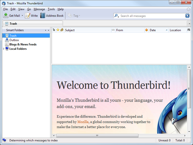 Mozilla Thunderbird Portable Edition Screenshot 1