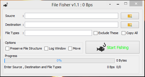 File Fisher Screenshot
