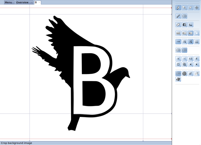 BirdFont Screenshot