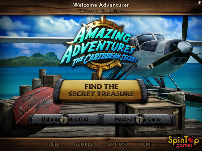 Amazing Adventures The Caribbean Secret Screenshot